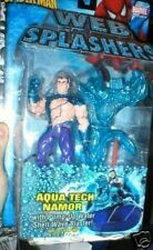 AQUA TECH NAMOR SPIDERMAN WEB SPLASHERS FIGURE MOC