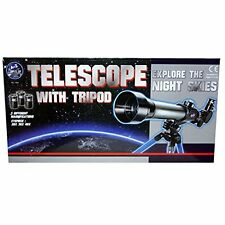 Astronomical Telescope With Tripod Stargazing Educational Kids Toy