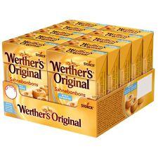 """10 Boxes x Original """"Werther´s Minis"""" Cream-Candies (10 x 42g) **sugarfree**"""
