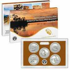 USA 2014 QUARTERS PROOF SET PARQUES NACIONALES