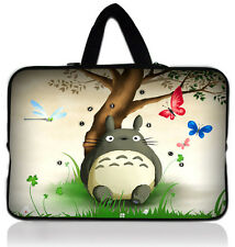 "Totoro 15"" 15.6"" Laptop Notebook PC Carry Sleeve Case Bag Cover with Hide Handle"