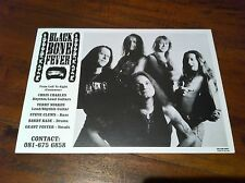 BLACK BONE FEVER  Black & White Band Promo Photo Hard Rock Heavy Metal NEW