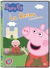 PEPPA PIG DVD VOLUMEN 15 LA REINA Y OTRAS HISTORIAS NUEVO ( SIN ABRIR )