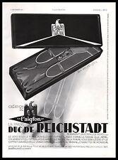 Publicité L'AIGLON DUC DE REICHSTADT Vetements Homme Bretelles vintage  ad  1933
