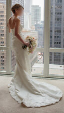 Pronovias Odeta / Sating Ivory Wedding  / Worn Once / Available for Inspection