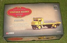 CORGI VINTAGE GLORY OF STEAM 80005 SENTINEL PLATFORM WAGON CEMENT MARKETING LTD
