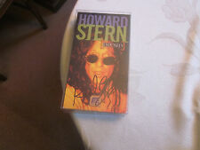 HOWARD STERN SIGNED/AUTOGRAPHED EXPOSED VHS TAPE (SUPER RARE)