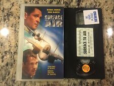 SURFACE TO AIR RARE OOP VHS! NOT ON U.S. DVD 1997 MICHAEL MADSEN, CHAD MCQUEEN!