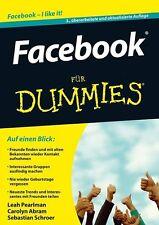 Facebook für Dummies von Leah Pearlman, Sebastian Schroer und Carolyn Abram...