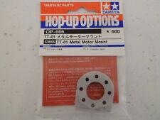 Tamiya 53666 TT-01 Metal Motor Mount (TT01/TT01E/TT01D) NIP