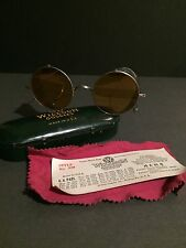 VINTAGE WILLSON SHOOTING SAFETY GOGGLES MOTORCYCLE STEAMPUNK Original Case RARE