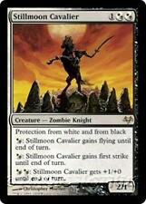 STILLMOON CAVALIER Eventide MTG White/Black Creature — Zombie Knight RARE