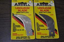 """Ardell 2 Linoleum Blades Heavy Duty (0.31"""")  Made in USA #41-1000"""