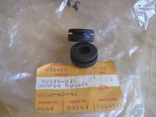 KAWASAKI NOS BATTERY BOX DAMPERS (2) H2 S1 S2 S3 KH250  92075-076