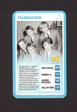The Beach Boys British Pop Rock Music Star Collector Card