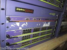 Extreme Networks Alpine 3804 5 Slot Switch INCL 3X FM-32T 45210 & 1X SMMI 45014