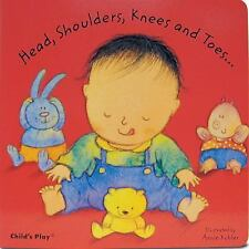 CHILDRENS STORY BOOK HEAD SHOULDERS KNEES and TOES