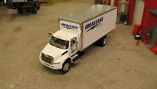 DCP IH 4400 IDEALEASE FLEET TRUCKING SEMI CAB BOX TRUCK 1:64 (NEW OLD STOCK)