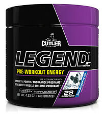 Jay Cutler Legend Blue Raspberry Ice Pre-workout Energy & Power (28 servings)