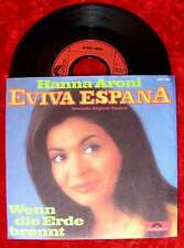 Single Hanna Aroni: Eviva Espana dt. Version (Polydor 2041 263) D 1972