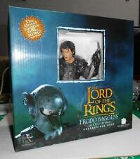 Gentle Giant Lord of the Rings Frodo Baggins in Orc Armor Bust NEW Statue