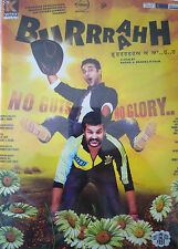 BURRRAAHH PUNJABI BOLLYWOOD DVD + ONE SURPRISE DVD INCLUDED.