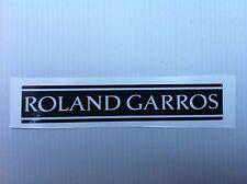 Stickers autocollants monogramme coffre Peugeot 205 Roland Garros modèle 2