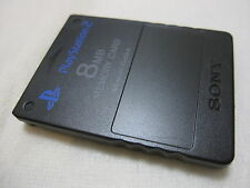 SONY PS2 Memory Card. [Memory Card Only!!!] [Made in Japan Version!!!] Black.