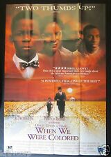 ONCE UPON A TIME…WHEN WE WERE COLORED—1996 PROMO POSTER