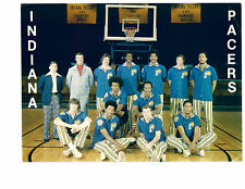 1973 1974 ABA CHAMPION INDIANA PACERS 8X10 TEAM  PHOTO  BASKETBALL HOF