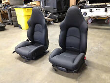 Porsche 911 993 Turbo Hardback Sport Seats Black Leather Reconstructed Carrera