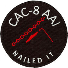 USN PATROL SQUADRON FOUR (VP-4) PATCH - COMBAT AIR CREW 8 -AAI - NAILED IT