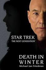 Death in Winter (Star Trek Next Generation (Unnumbered))-ExLibrary