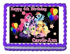 MY LITTLE PONY edible party cake topper decoration cake image sheet