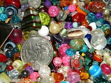 NEW 1 POUND LOT 6-12mm MULTI COLOR MIXED LOOSE BEADS Glass, Pearls, Gems