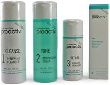 Proactiv 4pc 60 day Kit Blemish proactive cleanser toner lotion US 2018 exp