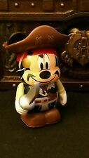 "DISNEY VINYLMATION Park - 3"" Set 1 Pirates of the Caribbean Mickey Mouse"