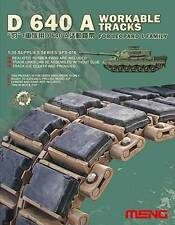 Meng Model 1:35 D640 A Workable Tracks for Leopard I Family