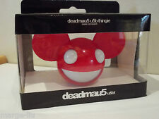 DEADMAU5 HEAD USB KEY MEMORY FLASHKEY 4GB RED NEW IN BOX