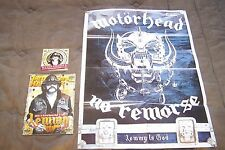 MOTORHEAD LEMMY 1945-2015 GREEK METAL HAMMER MAGAZINE + CD + POSTER