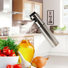 1Pc Stainless Steel Olive Pump Spray Fine Bottle Oil Sprayer Pot Cooking Tool US