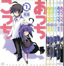 DHL Delivery Acchi Kocchi Lot.1 - 6 Set. Japanese Version. Manga Place to Place