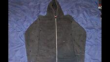 Supreme Black Stars Zip Up Hoodie Size Large