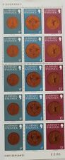 Guernsey Bailiwick coins stamps, 10 stamps, 1979, SG ref: 180, 185 & 191, MNH
