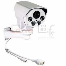CCTV 1080P 2MP 10x Zoom POE IR80M IR IP66 Mini Outdoor PTZ Camera Free Shipping