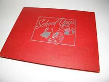 Fabulous 1950 Vintage SCHOOL DAYS Scrapbook SENIOR MEMORIES _ NEW/BLANK!
