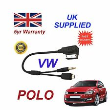 VW Polo MMI para HTC M8 E8 Desire Mini SAMSUNG One Micro USB y AUX 3.5mm Cable S