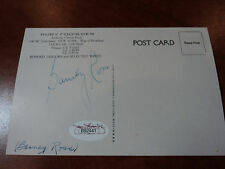 BARNEY ROSS - Signed Postcard Boxing Champ & WWII Veteran - JSA LOA AUTHENTICS