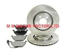 VW Polo 6R |2009-| 1.2, 1.4 & 1.6, Vented Front Brake Discs & Pads