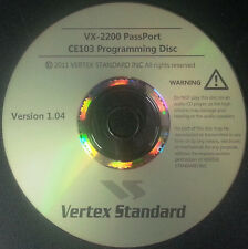 Vertex Standard CE103 for the VX-2200 PassPort Version 1.04